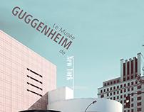 MUSÉE GUGGENHEIM - Mise en page pour un magazine