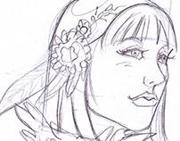 """""""Gaia"""" - Concept II (Previous Sketches)"""