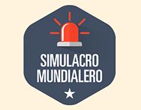 SIMULACRO MUNDIALERO