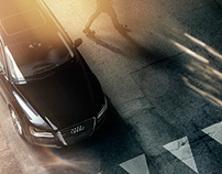 Audi A8 Shoot