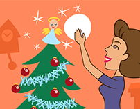Ora's 12 Days of Christmas