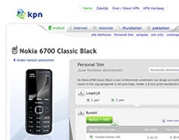 KPN 2009 Various Visual Interaction Design Web
