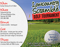 Lowcountry Scramble event flyer