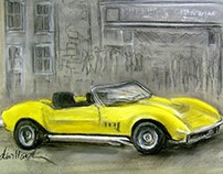 The Yellow Corvette