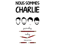 Je suis Charlie - Motion Graphic