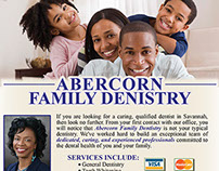 Abercorn Family Dentistry Ad