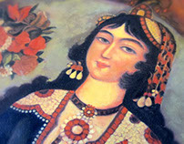 Qajar Painting (Persian oil Paintings)