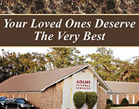 Adams Funeral Home Ad Update