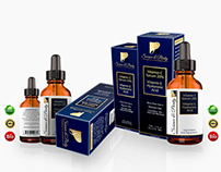 Science & Purity Label and Package Design