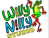 Willy Nilly Studio Business Card Variations