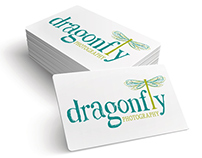 Dragonfly Photography Logo Design