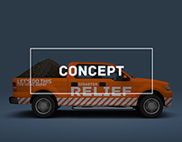 Home Depot Disaster Relief Concept