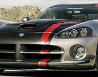 DODGE VIPER SRT 10/ FRONT/ CGI