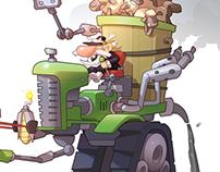 Character Design-Horst-The battlefields Farmer