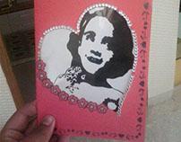 Handmade card for my li'l niece Vaanya