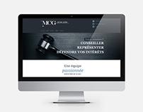 MCG Avocats - Site web / Website