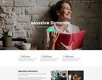 Massive Dynamic - WordPress Theme by pixflow