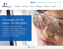 PerkinElmer Site Design