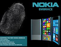 Nokia Embrace Phone Design
