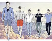 TomFarr Man SS15 sketches