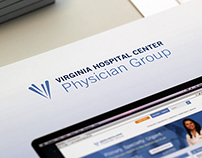 Virginia Hospital Center Rebrand and Print Work