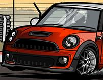 """Mini Cooper JCW R56 """"Asphalt Eater"""""""