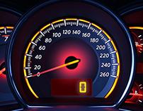 MyCarDash.com - HTML5 Speedometer
