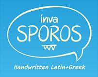 invaSporos Handwritten Typeface