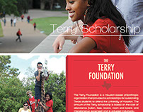 Terry Scholarship Postcard
