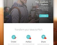 PitchMojo App Landing Page
