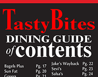 Tasty Bites Table of Contents