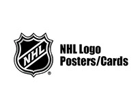 NHL Logo Posters/Cards