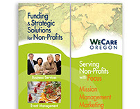 We Care Oregon Trade Show Banners