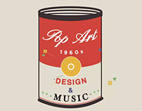 POP ART: Design and Music