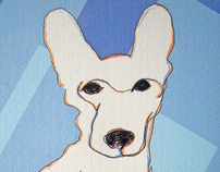 Picassimal Modern Pet Art - Tacquito