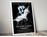 The Dark Knight Movie Poster Re-Design