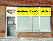 Sign Design & Installation For Markham Quality Meats