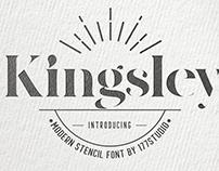 Free Font - Kingsley