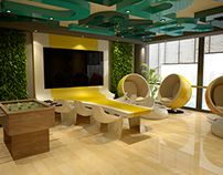 DAFZA - creative room office ( Concept B )