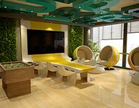 DAFZA - creative room office ( Concept B )
