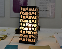Typographic Lamp