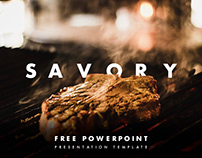 Savory Free PowerPoint Presentation Template