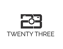 Twenty Three (23) - Photography studio Branding