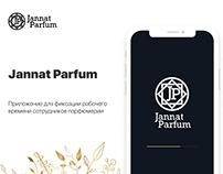 Jannat Parfurm app | work time controller