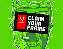 Adobe® Claim Your Frame – Self Portrait