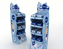 Nivea Baby POP Display