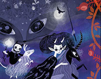The Sugar Plum Fairy Book Cover Illustration