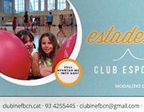 Facebook Ads Club Esportiu INEF Barcelona - 2014