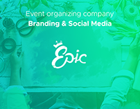 Epic | Event Organizing Co. Visual Identity