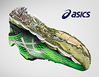 "ASICS ""RUN LONG"" Natural"